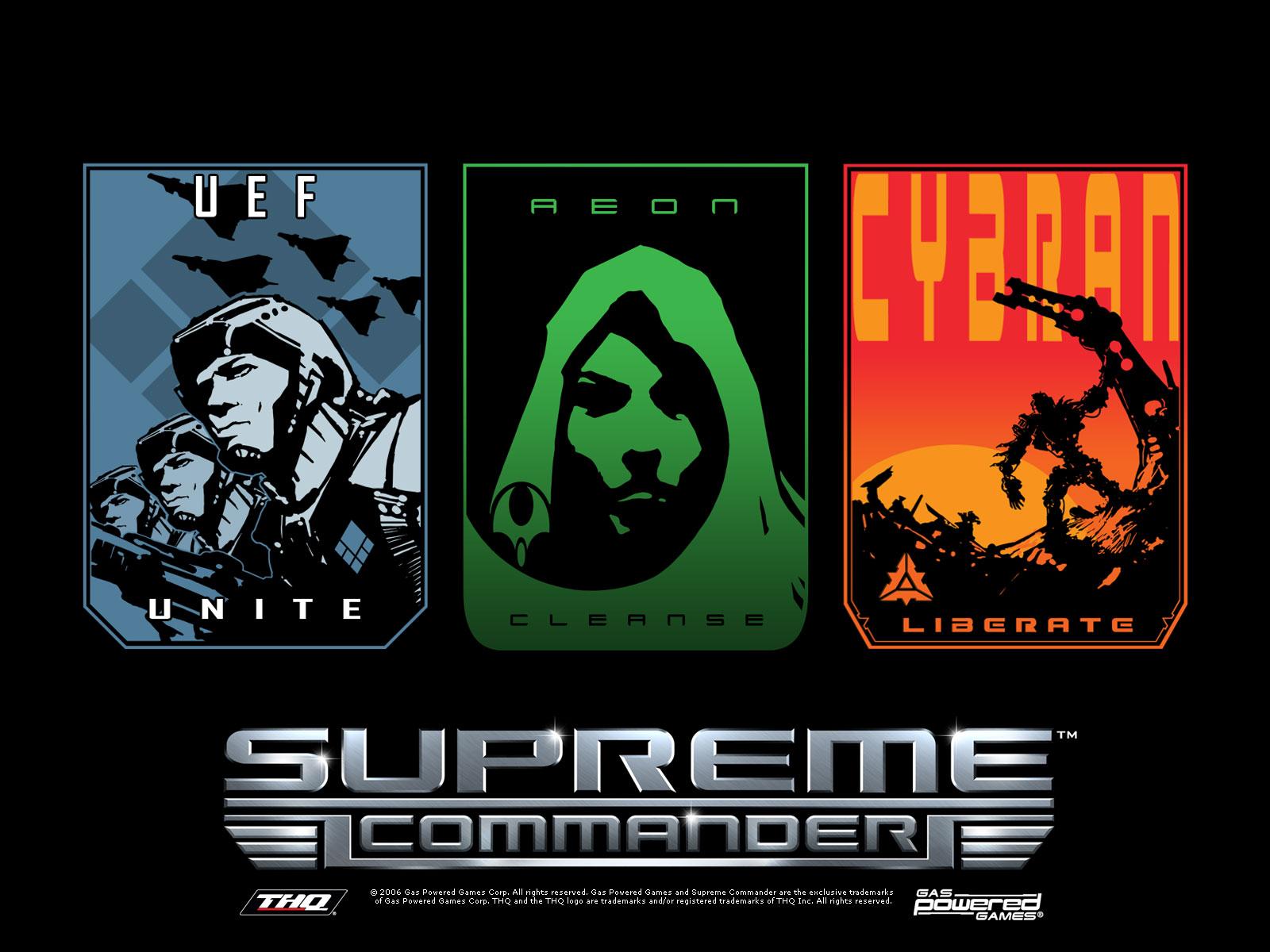 Supreme Commander 2 Карты